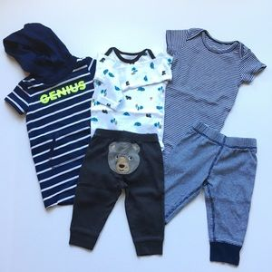 Carter's 6 & 9 month boys clothes